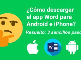 cómo descargar el app Word