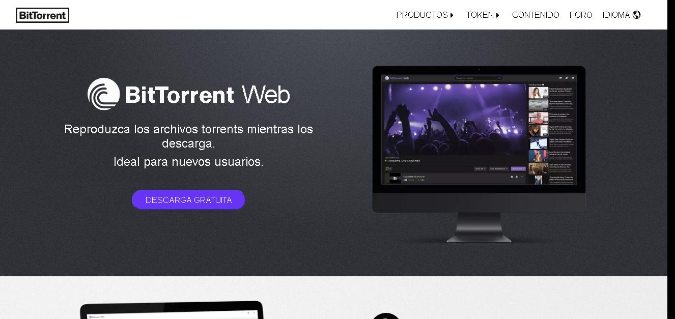 Descargar BitTorrent Web