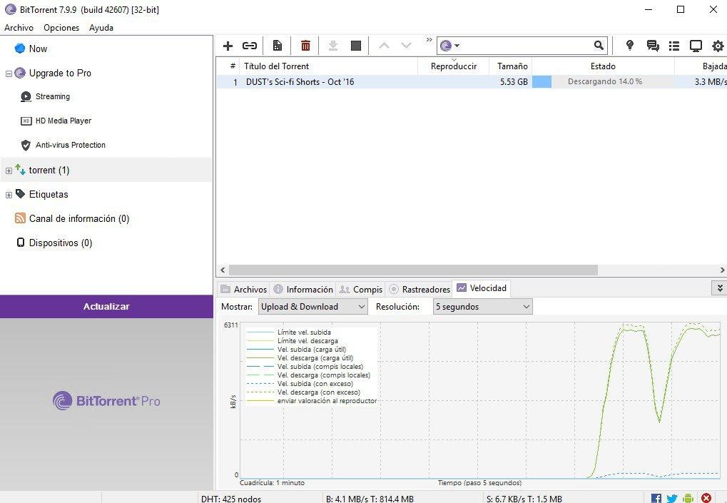 Desventajas BitTorrent