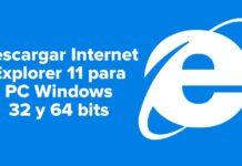 Cómo descargar internet explorer 11