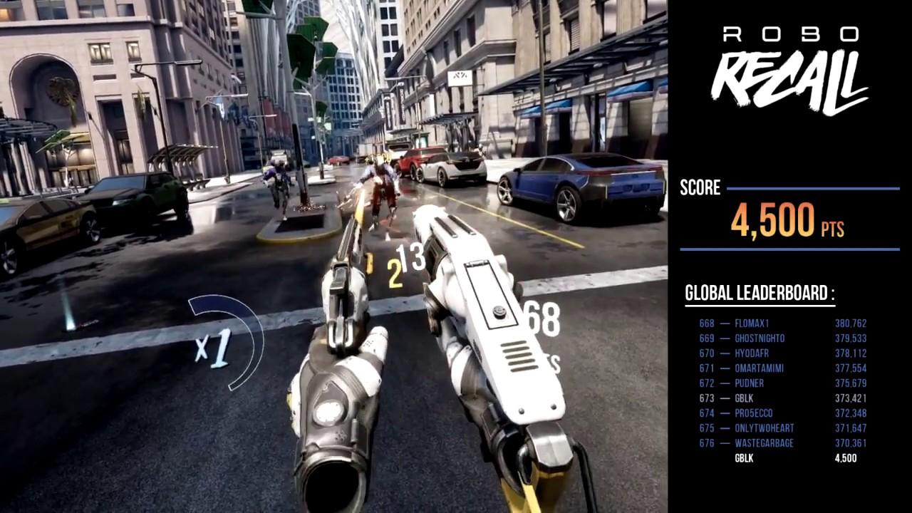 cómod escargar robo recall para oculus rift